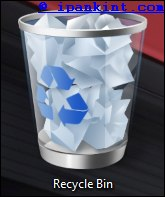 Icon Recycle Bin Windows