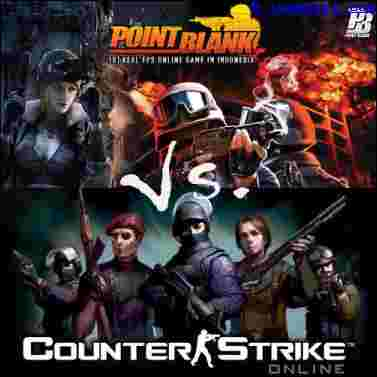 Point Blank Versus Counter Strike