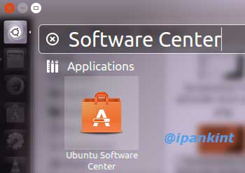 Membuka Ubuntu Software Center