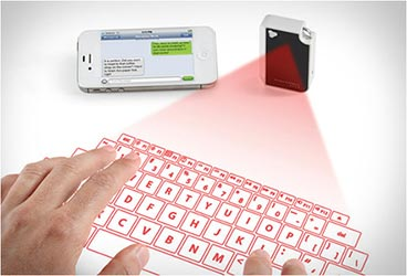 Projection Keyboard Keychain